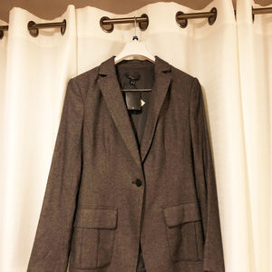 Ann Taylor womens new size 10 jacket wool rayon